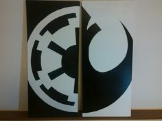 Yin & Yang   Star Wars, Galactic Empire, Rebel Alliance