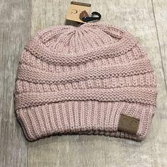b41eb7ba1fe ROSE- Slouchy Knit Beanie Boutique. C.C BEANIE!!!