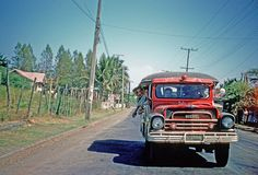 Cavite City, Philippines June 1961 By William Fabianic Note the Jeepney's license plate: Cavite Jeepney, Enjoy The Sunshine, Back In Time, Historical Pictures, Manila, Cool Photos, Interesting Photos, Southeast Asia, The Good Place
