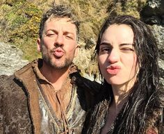 Getting dirty in Ireland with this champ #TBT #saintpatricksday