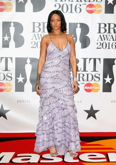 See What Adele, Rihanna, and More Celebs Wore to the 2016 Brit Awards