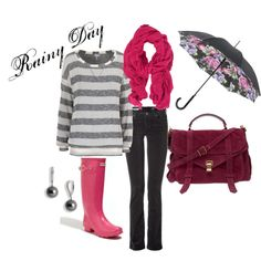 Rainy Day Style - love this!
