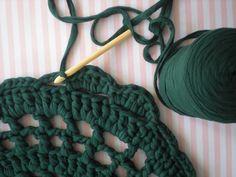 Alfombra crochet