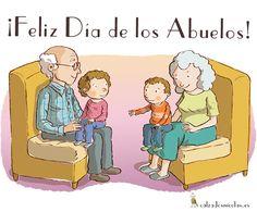 A quién nos enseñó a realizar el primer nudo en nuestros zapatos. Gracias. #Feliz día de los #abuelos.