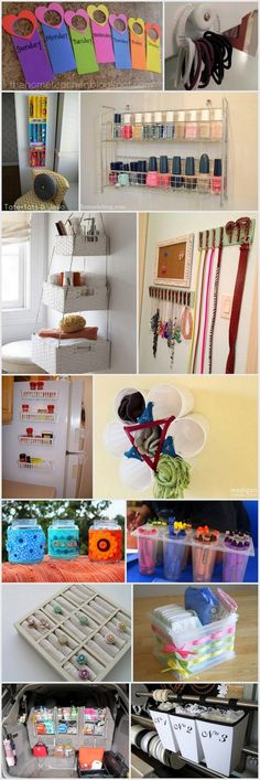 Creative DIY Projects In Organizing Your Home Using Dollar Store Items