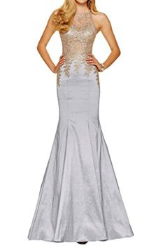 nice Buy Now Avril Dress Exquisite Mermaid Taffeta Appliques Sleeveless Evening Prom Dress-6-Silver    With appliques embellishment and sheath design, the dress is very beautiful. It's great for a evening, party, prom and various occasions. ... http://allmodern.site/buy-now-avril-dress-exquisite-mermaid-taffeta-appliques-sleeveless-evening-prom-dress-6-silver/