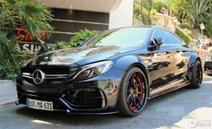 New Mercedes-AMG C63 S Coupé By Prior Design