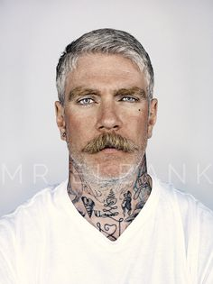 'Miles Better' sporting moustache wax and silver hair. Dashing in denim: fashion, fitness and robust health for men AFTER age 50 http://overfiftyandfit.com/important-habits-men-over-50/