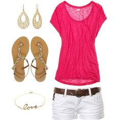 casual summer #2 by hopeful828 on Polyvore