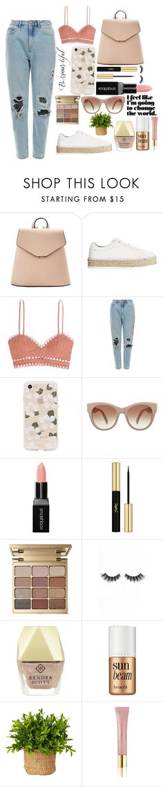 """Festive"" by short-stuff25 ❤ liked on Polyvore featuring MANGO, rag & bone, Zimmermann, Sonix, Smashbox, Yves Saint Laurent, Stila, Violet Voss, Kendra Scott and Benefit"