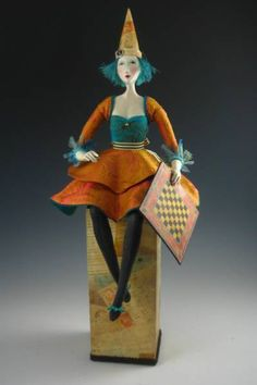 Cindee Moyer Art Dolls
