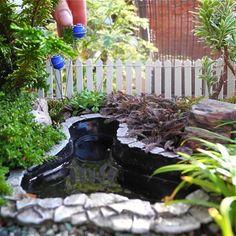 DIY ideas for miniature gardens