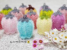 Crochet Scrubbies, Crochet Potholders, Crochet Bouquet, Crochet Flowers, Freeform Crochet, Knit Crochet, Doily Patterns, Crochet Patterns, Loom Knitting Patterns