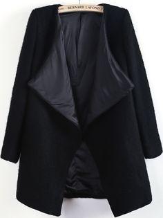 Veste en laine -Noir