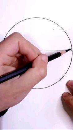 Art Drawings Beautiful, Art Drawings Sketches Simple, Pencil Art Drawings, Pencil Drawings Of Nature, Chalk Drawings, 3d Art Drawing, Drawing Ideas, Easy 3d Drawing, Pencil Drawing Inspiration