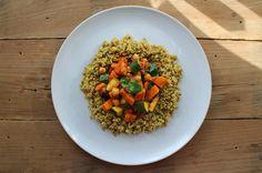 Vegan Freekeh Curry