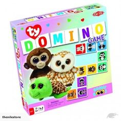 Crown & Andrews Ty Beanie Boos - Dominos NEW | Trade Me