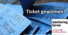 Am 1.-2.12.15 zum 4. Mal: Das Social Media Monitoring Forum in München. Wir verlosen als Medienpartner (mit dem MonitoringCamp) bis 6.11. ein Ticket.