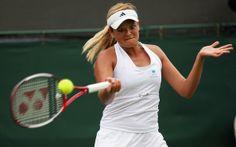 Aleksandra Wozniak - The Championship - Wimbledon 2009 Day One