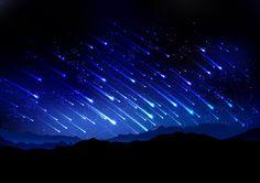 夜空をキャンバスに!「人工流れ星」