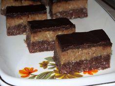 Diós csokis szelet sütés nélkül! Olcsó, finom és bárki könnyedén el tudja készíteni!