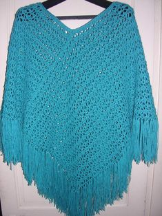 Free Easy Crochet Patterns | CROCHET EASY FREE PATTERN PONCHO | Crochet Patterns
