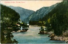 Alexander Bridge over the Fraser River British Columbia, July 1893