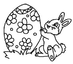 easter coloring pages for 2nd grade