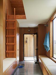 Contemporary Home Attic Loft Design, Pictures, Remodel, Decor and Ideas
