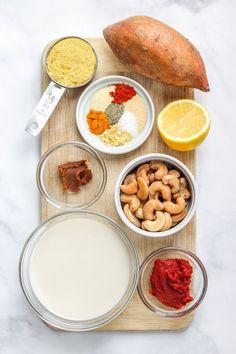 The Best Vegan Cheese Sauce! Made with simple plant based ingredients, this vegan cheese sauce is multi-purpose and very easy to make. Vegan Foods, Vegan Snacks, Vegan Dinners, Vegan Vegetarian, Raw Vegan, Healthy Food Options, Healthy Eating Recipes, Vegan Recipes, Eating Vegan