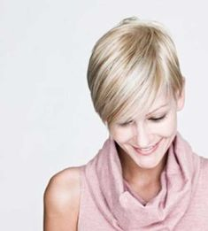Blonde Pixie Haircut