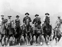 Steve McQueen and Yul Brynner and Charles Bronson and Horst Buchholz and Robert Vaughn and James Coburn and Brad Dexter in The Magnificent Seven iconic ri Poster – Shopping Guide Charles Bronson, Steve Mcqueen, Robert Vaughn, Yul Brynner, Deborah Kerr, Old Movies, Great Movies, Charles Bukowski, Dexter