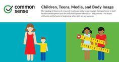 Children, Teens, Media, and Body Image Infographic | Common Sense Media