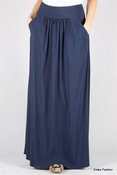 Летния длинная юбка