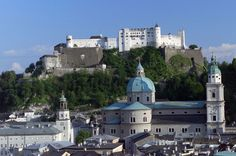 Fortress Hohensalzburg in Salzburg...Dave would love this!