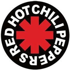 Red Hot Chili Peppers Asterisk Logo Sticker
