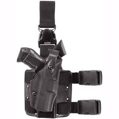 Safariland ALS Tactical Holster Quick-Release Detachable Harness Black S and W M and P Left-handed