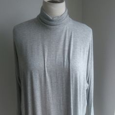 Grey viscose top Follow us on Fb and instagram  nouf clothing