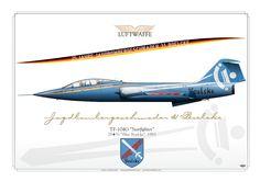 "GERMAN AIR FORCE . LUFTWAFFE Jagdbombergeschwader 31 ""Boelke"" Fliegerhorst Nörvenich Special color for the 25th Anniversary of JaboG 31, 1983"