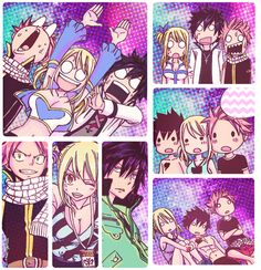 Honestly I want a group of besties with two guys! Who wants to be my natsu and gray???