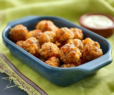 Sausage Balls, low-carb style! Almond meal replaces the Bisquick.