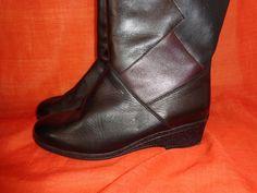 Vintage Stiefel - Stiefel*Vintage*schwarz*Leder*Medicus*6*39* - ein Designerstück von SweetSweetVintage bei DaWanda