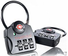 Secure your travels with Tarriss TSA Locks with SearchAlert technology. With SearchAlert you'll always know when TSA has been in your bags!
