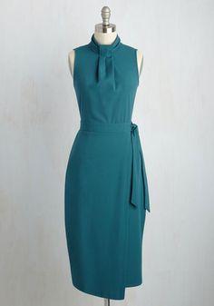 Sleek Supervisor Dress | Mod Retro Vintage Dresses | ModCloth.com