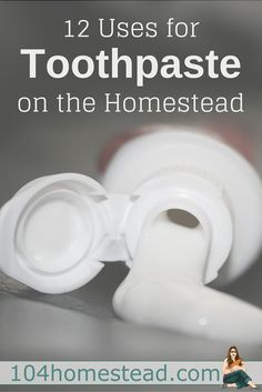 Commercial toothpaste is filled with stuff you don't want to be putting in your mouth, but it's great for uses around the house. Here's just a few ideas to get you started.