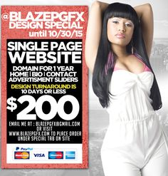 Single Page Website Special