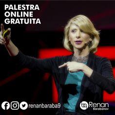 """Palestra Gratuita Online:   """"Sua linguagem corporal molda quem você é?"""" palestrante Amy Cuddy  Confira essa incrível palestra ministrada online clicando aqui: https://youtu.be/Ks-_Mh1QhMc  #empreendedorismo #amycuddy #renanbarabanov #baraba9"""