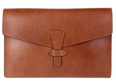 Carry the look of a professional by storing your paperwork and documents in this Leather Document Case by Frank Clegg. What makes this underarm carry case Leather Briefcase, Leather Pouch, Leather Sketchbook, Diy Leather Projects, Leather Folder, Leather Bag Pattern, Wooden Bag, Leather Portfolio, Leather Working