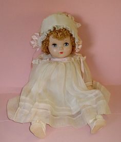 "~ 23"" Composition 'Madame Alexander' ""Little Genius"" Doll ~"