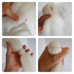 How To Make Fairy Wool Dolls1